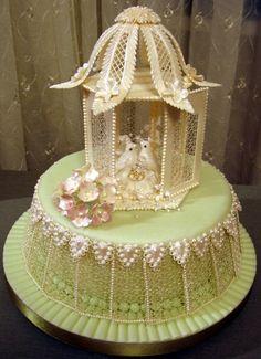 Lace Birdhouse