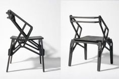 Industrial chair collection made without glue or screws Industrial Design Is a very fashinable direction in design today because it gives a modern fresh Tou...