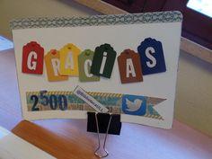 Celebrando los 2.500 seguidores en Facebook