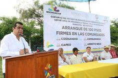 Durante el arranque de la construcción de los pisos firmes, el alcalde Elías Ibarra, agradeció estos apoyos que otorga Sedesol a su…