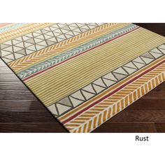 Hand Tufted Elston Wool - New Zealand Rug (3'3 x 5'3) (Beige), Size 3' x 5' (New Zealand Wool, Abstract)