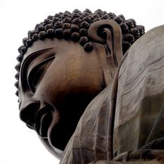 Big Buddha Hong Kong - In spiritual life there is no room for compromise. Awakening is not negotiable; we cannot bargain to hold on to things that please us while relinquishing things that do not matter to us. A lukewarm yearning for awakening is not enough to sustain us through the difficulties involved in letting go. It is important to understand that anything that can be lost was never truly ours, anything that we deeply cling to only imprisons us. Jack Kornfield