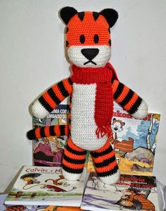 Crochet For Children: Free Hobbes Crochet Pattern