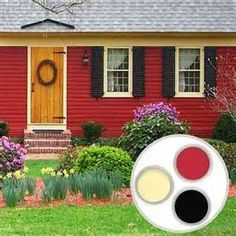 The 8 Best Red Exterior House Paints | House paint colors and ...