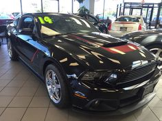 Car brand auctioned: Ford Mustang ROUSH STAGE 3 2014 Car model ford mustang roush stage 3 supercharged