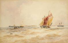 Four watercolour paintings by century Sheffield artist Thomas Bush Hardy who fought in the American Civil War are going under the hammer Under The Hammer, Watercolour Paintings, His Travel, American Civil War, Sheffield, 19th Century, Art Gallery, Artist, Watercolor Paintings