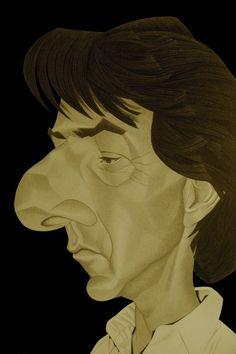 Dustin Hoffman par Broka