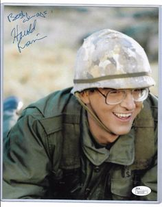 Harold Ramis autographed 8x10 photo PSA/DNA COA Stripes 'Russell' Rare deceased