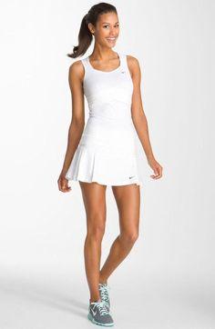 Nike White Tennis Dress