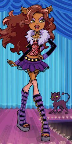 Clawdeen Wolf, Monster High official website