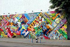 by: Pose - Revok [Bowery wall] (Manhattan, NY)