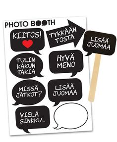 Photo Booth -puhekupla C www.nowandforever.fi