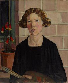 """Self Portrait"" Margaret Preston. Margaret Preston was an… Margaret Rose, Margaret Preston, Henri De Toulouse Lautrec, Australian Painting, Australian Artists, Gustav Klimt, High Society, Self Portrait Artists, Sir Anthony"
