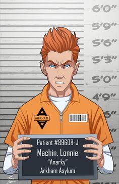 Lonnie Machin locked up by phil-cho.deviantart.com on @DeviantArt