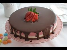 YouTube Strawberry Fields, Candy Shop, Dessert Recipes, Desserts, Mousse, Bakery, Birthday Cake, Pudding, Sweets