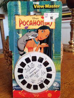 Pocahontas 1980s View Master Reels MIP view-master