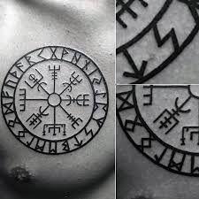 Resultado de imagen para viking compass tattoos