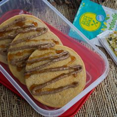 On the go Snickerdoodle pancakes (meal prep idea)