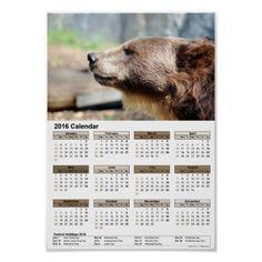 Master Bruin / calendar 2016