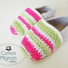 Alpargatas en Crochet para bebés