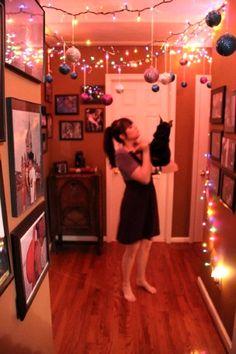 50 Beautiful Indoor Christmas Lighting Ideas – I love Pink