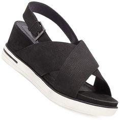 d61f90d20d1 EILEEN FISHER Good Sandal Platform Wedge CrissCross Sport Sneaker Shoe  Black 7.5  EileenFisher  PlatformsWedges