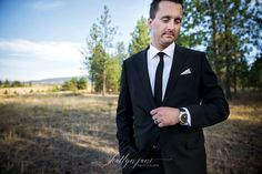 Bobbee & Ryan | Manteo Resort, Kelowna BC | Katlyn Jane Photography & Weddings Alberta Photographer   |  Suit by Hugo Boss  |  Watch by Michael Kors