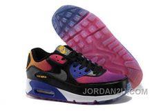 http://www.jordan2u.com/nike-air-max-90-womens-black-purple-blue-discount-zebbr.html NIKE AIR MAX 90 WOMENS BLACK PURPLE BLUE DISCOUNT ZEBBR Only 69.68€ , Free Shipping!
