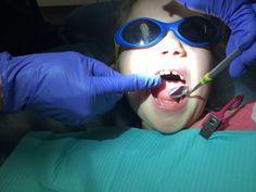 Portia's first visit to Third St. Dental with Dr. Melissa Skinner - www.drmelissaskinner.com