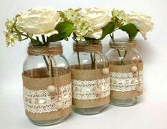 One Roll x Burlap Ribbon Roll with Lace Diy Fabric for Chair Sash Bow Wedding Cake Cup Party Decorations Bow Wedding Cakes, Wedding Bows, Trendy Wedding, Hipster Wedding, Wedding Simple, Chic Wedding, Wedding Colors, Wedding Flowers, Lace Mason Jars