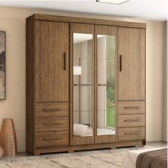 Wall Wardrobe Design, Wardrobe Door Designs, Bedroom Closet Design, Bedroom Furniture Design, Home Room Design, Corner Wardrobe Closet, Bedroom Built In Wardrobe, Wooden Wardrobe, Wardrobe Furniture