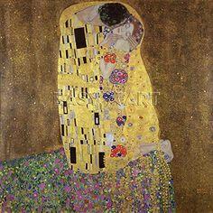 Gustav Klimt Art Print, The Kiss, 1907 (40 x 40cm Art Prints/Posters) Easyart.com http://www.amazon.co.uk/dp/B000RM4SS6/ref=cm_sw_r_pi_dp_Swwsub1M7C8TZ