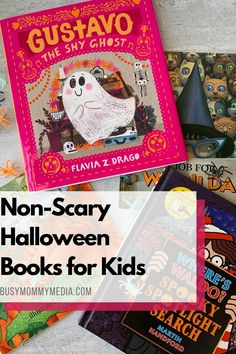 We love celebrating holidays with books. These non-scary Halloween books are some of our favorites and it is so much fun to read them together throughout the month of October.
