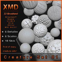 Free Custom Zbrush Brushes - Page 9