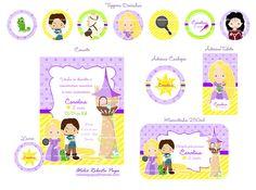 Kit Enrolados / Rapunzel (Estampa 2) | Flickr: Intercambio de fotos