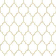 56 sq. ft. Casabella II Moroccan Trellis Wallpaper