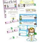 Your students will be swept away into the magic of learning with this fairy tale theme set!  You will receive: *fillable newsletter *fillalbe weekl...