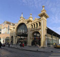 Efe22 - Fachada Mercado Central, Zaragoza