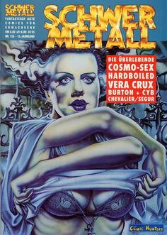"Just wonderful. - Schwer Metall Magazine Covers. - Board ""Art-Schwer Metall"". -"