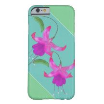 Fuchsia blossoms barely there iPhone 6 case