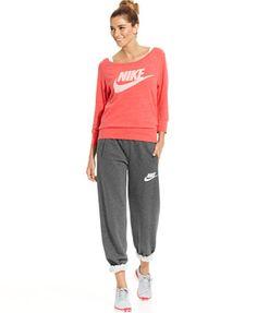 Nike Gym Vintage Sweatshirt & Rally Straight-Leg Sweatpants