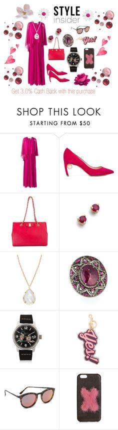 """Style in you..."" by jamuna-kaalla ❤ liked on Polyvore featuring MSGM, Nicholas Kirkwood, Salvatore Ferragamo, blanca monrós gómez, Kendra Scott, Bavna, Proff, Anya Hindmarch, Le Specs and Fendi"