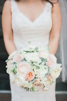 Wedding Bouquets :     Picture    Description  Garden rose, peony and ranunculus wedding bouquet: Photography : Michael + Anna Costa Photography Read More on SMP: www.stylemepretty…    - #Bouquets https://weddinglande.com/accessories/bouquets/wedding-bouquets-garden-rose-peony-and-ranunculus-wedding-bouquet-photography-michael-anna/