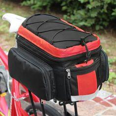 Hoy con el 25% de descuento. Llévalo por solo $90,800.Bolsa de rack CoolChange posterior de la bicicleta con el reflector de la raya.