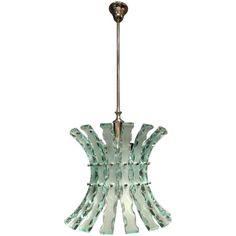 Cut Glass Chandelier - Lighting - Stock - Thomas Bonzom