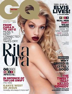 Rita Ora na GQ inglesa
