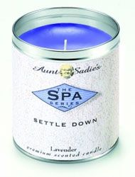 Aunt Sadie's Spa Settle Down Candle