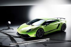 Lamborghini Gallardo Green Menace!