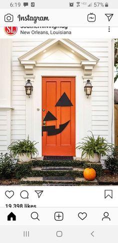 New Instagram, Happy Halloween, New Orleans, Halloween Decorations, Garage Doors, Real Estate, Outdoor Decor, Inspiration, Image