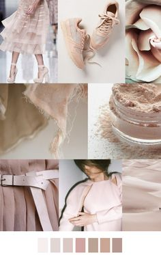 Pale pink or blush. Very fresh, soft and calm. For the poised. #blushpink #colorswatches